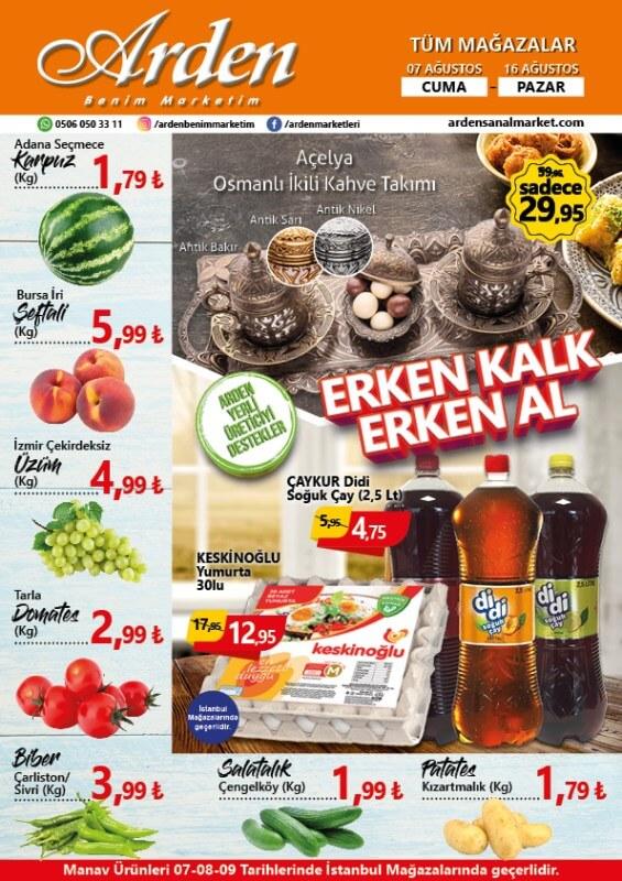 Arden Market 7-16 Ağustos 2020