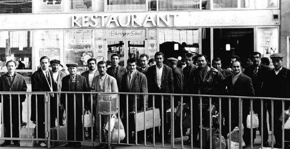Gurbetçilerin Çalışması 1961