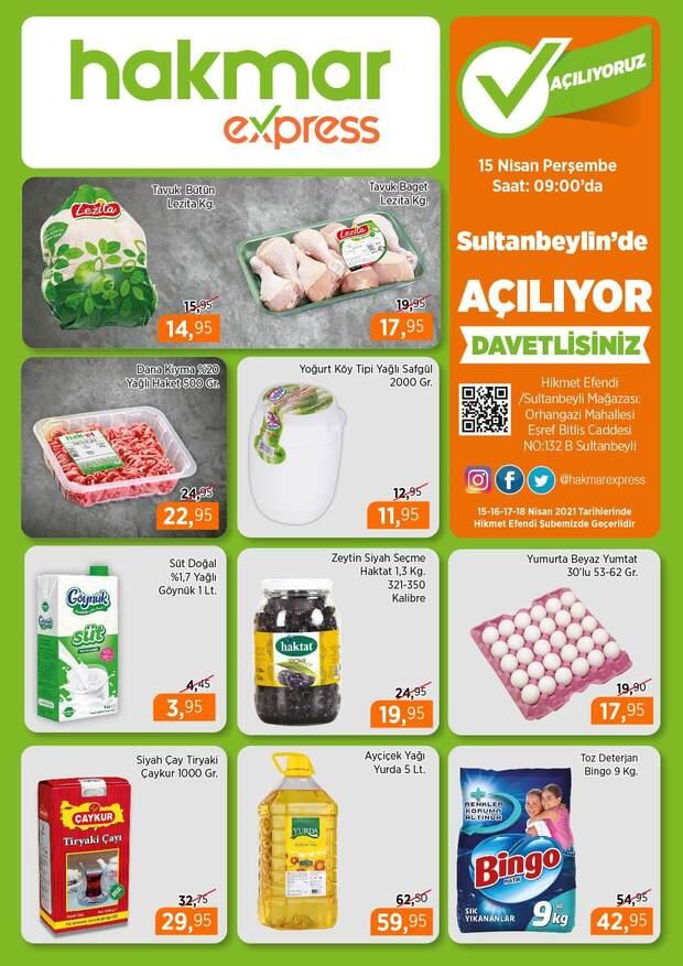 Hakmar 15 Nisan 2021 İstanbul Sultanbeyli