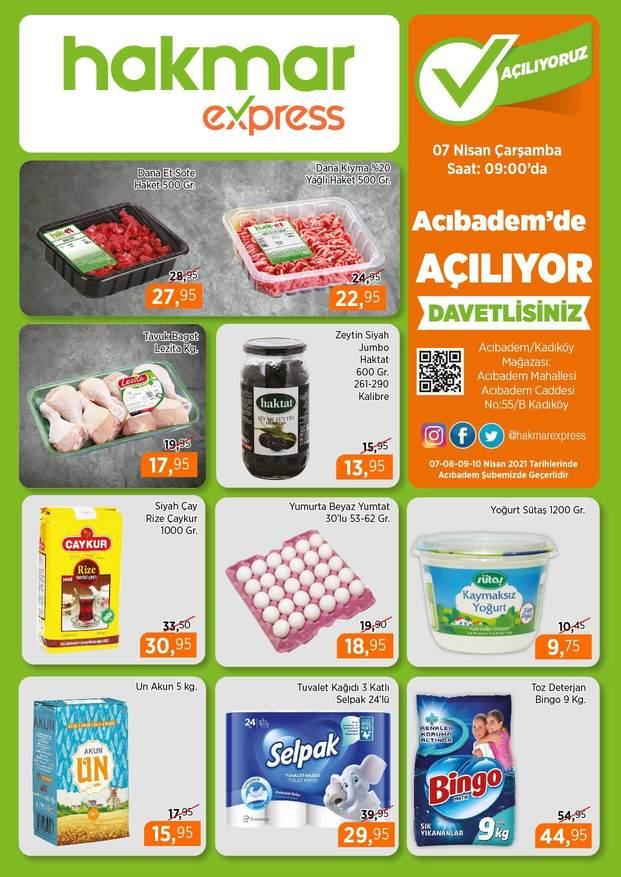 Hakmar 7 Nisan 2021 İstanbul Kadıköy