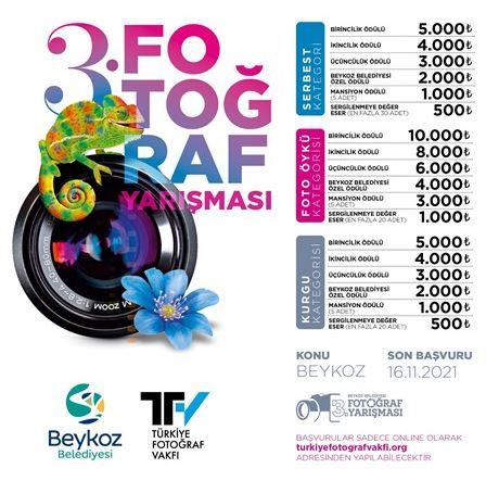 Beykoz Belediyesi 3.Fotoğraf Yarışmasında 126 Bin TL'lik Ödül