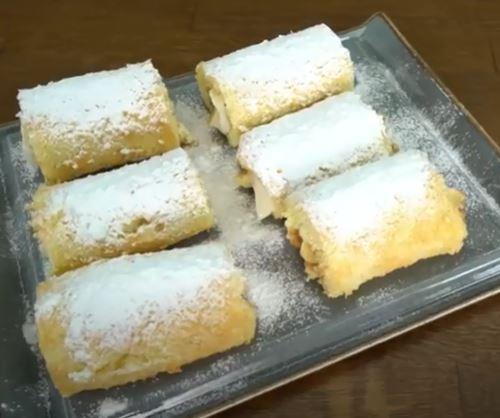 Pastane Pastası - Muzlu Rulo Pasta
