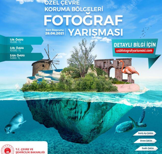 Özel Çevre Koruma Bölgeleri Ödüllü Fotoğraf Yarışması Afişi
