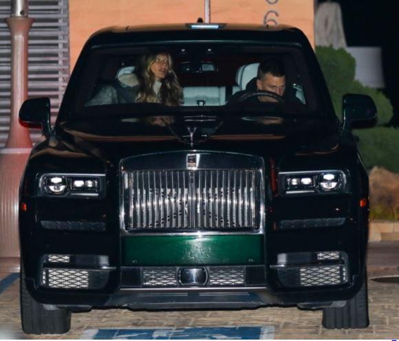 Amerikan Futbolu Oyuncusu Tom Brady 2015 Rolls Royce Ghost
