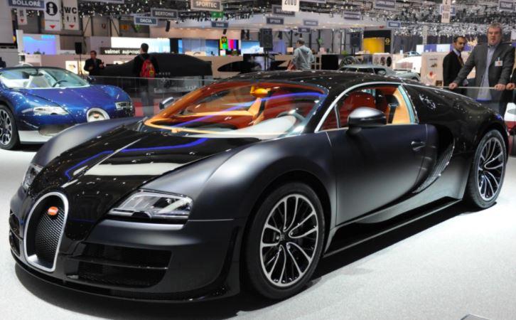 Amerikan Futbolu Oyuncusu Tom Brady- Bugatti Veyron Super Sport