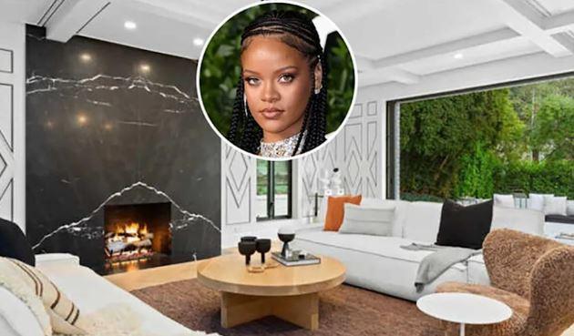 Rihanna Swanky Beverly Hills Malikanesi