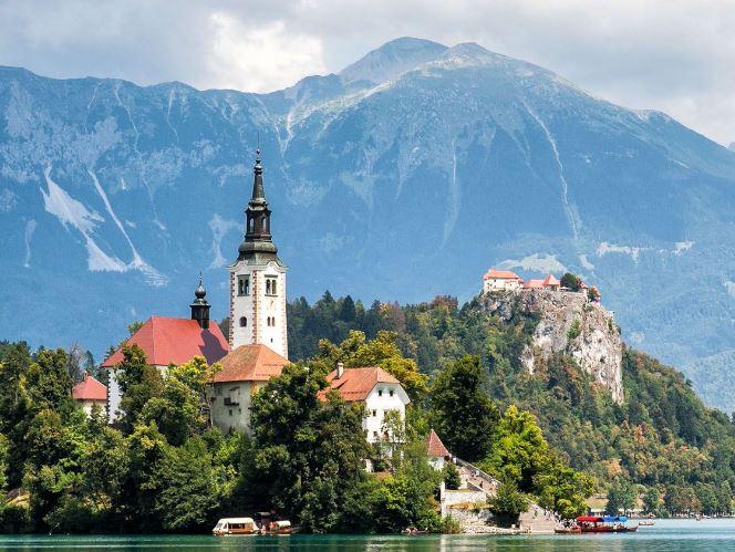 Avrupa'nın En İyi 17 Küçük Kasabasını Seyahat Bled Slovenya
