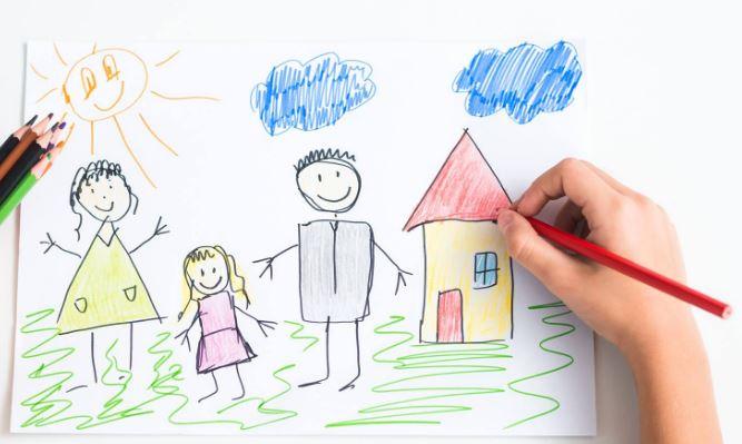 Çocuğun Çizdiği Resimler