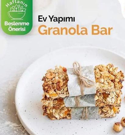 Granola Bar Yapımı