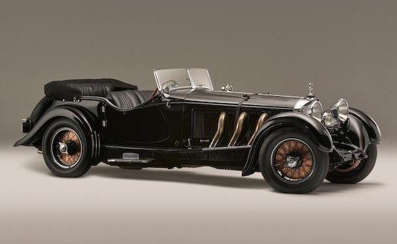 Klasik 1928 Mercedes-Benz S Tipi Araç