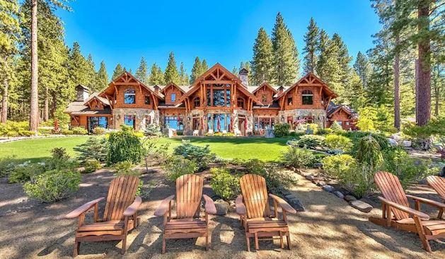 60 Milyon Dolarlık Lake Tahoe Sahil Yerleşkesi