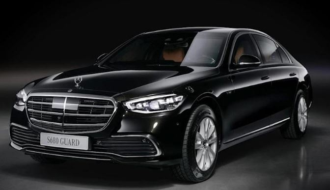 Mercedes-Benz'in Zırhlı S-Serisi