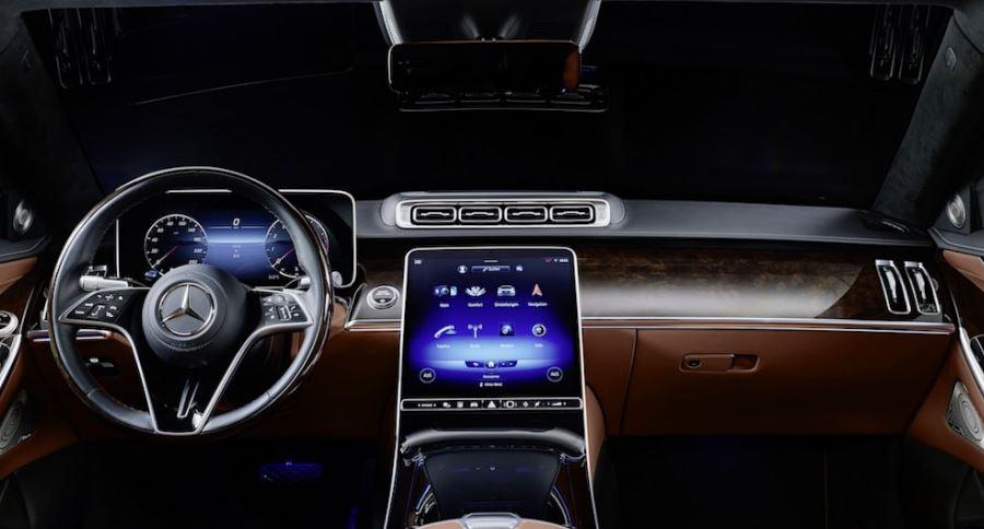 Mercedes-Benz'in Zırhlı S-Serisi İç