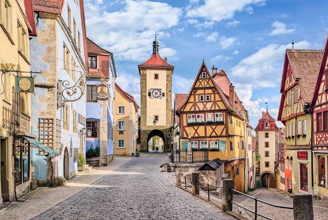 Avrupa'nın En İyi 17 Küçük Kasabasını Seyahat Rothenburg ob der Tauber