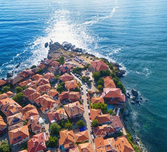Avrupa'nın En İyi 17 Küçük Kasabasını Seyahat Sozopol Bulgaristan